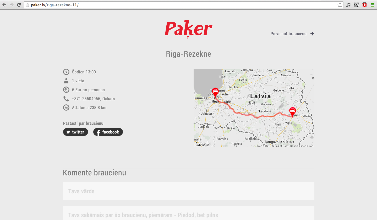 latvia google maps